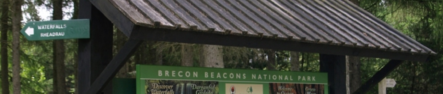 Brecon Beacons noticeboard